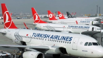 Turkish Airlines manages to fly through turbulent weather