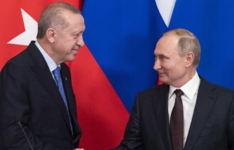 Erdoğan and Putin agree Syria ceasefire at meeting in Moscow