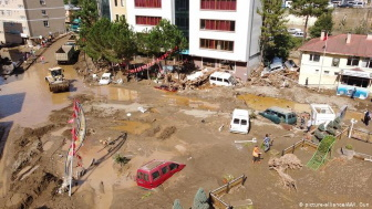 Flash floodings creates havoc in Turkey's Black Sea province of Giresun
