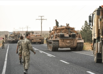 Turkey launches attack on Syrian Kurdish forces